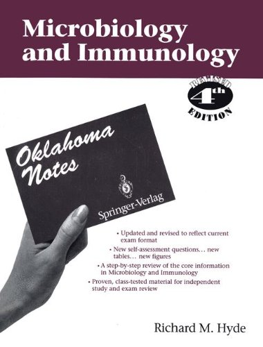 Microbiology & Immunology (Oklahoma Notes)