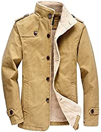"<span class=""a-offscreen"">[Sponsored]</span>Men's Outdoors Fleece Windproof Jackets Coats"