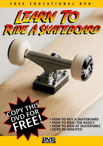 Learn To Ride A Skateboard (Skateboard Dvd)