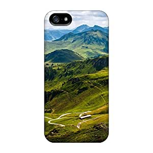 For Pure For Iphone 5/5S Phone Case Cover Protective Case, High Quality For Iphone 5/5S Phone Case Cover Kitzbuhel Mountain Skin