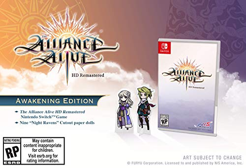 (The Alliance Alive HD Remastered - Nintendo Switch)