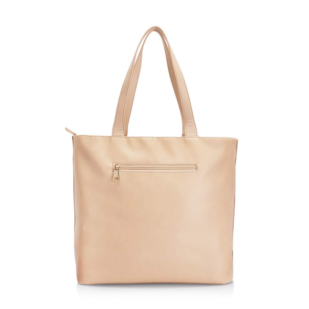2afdc20e6b Caprese Vienna Women s Tote Bag (Skin)  Amazon.in  Shoes   Handbags