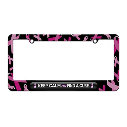 Amazoncom Keep Calm And Find A Cure Breast Cancer Awareness