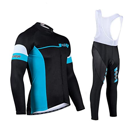 Yffksse Maillot De Ciclismo Hombres Y Mujeres Mangas Largas ...