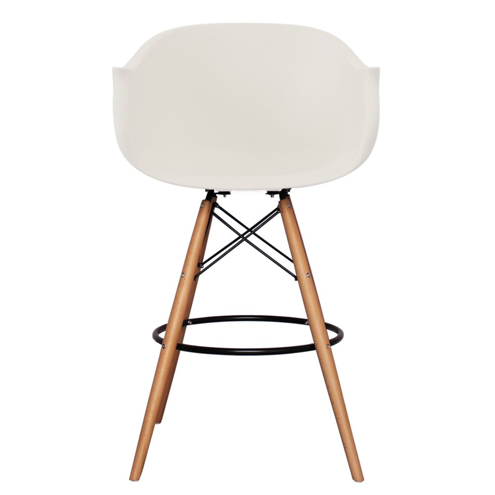 Brilliant Scandi Retro Eiffel Style Bar Stools With Plastic Tub Seat Bralicious Painted Fabric Chair Ideas Braliciousco