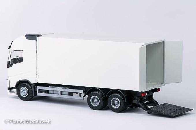 EMEK 81134 VOLVO FH04 GLXL 4x2 Kofferauflieger 1:25 blaues FH weißer Koffer 65