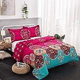 Cheap Comforter Sets Under 30 wuy Bedding Set Bohemian Oriental Mandala Bedding Quilt Duvet Cover Set Twin Queen King Size 3pcs 1 Duvet Cover + 2 Pillow