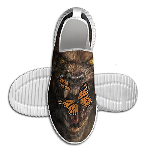 Coallw Monarch Butterflies Lightweight Breathable Casual Sports Shoes Fashion Sneakers Shoes]()