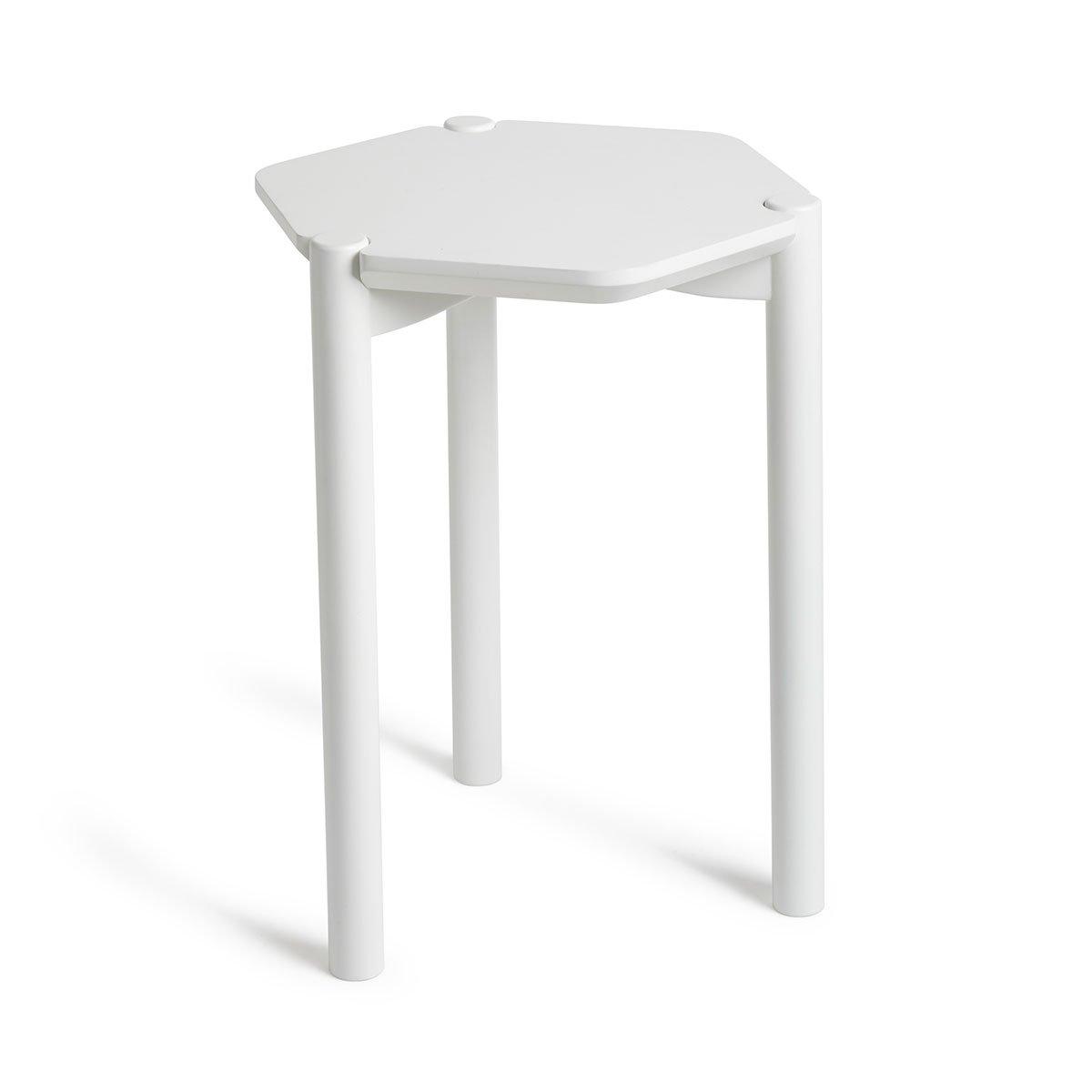 umbra HEXA SIDE TABLE(ヘクサ サイドテーブル) ホワイト 2320310660 B01ANF5ST4 ホワイト ホワイト