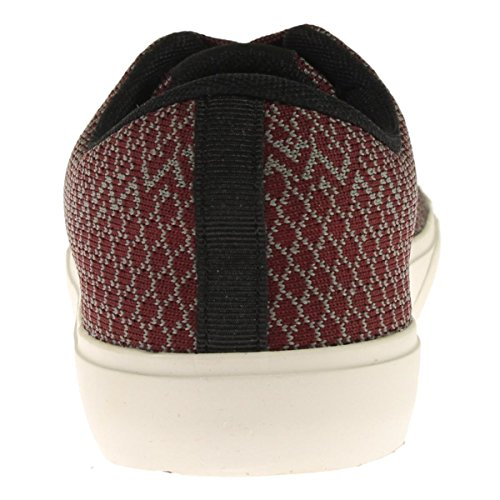 Steve Madden Mens Moirai Geweven Chevron Mode Sneakers Rood 8 Medium (d)