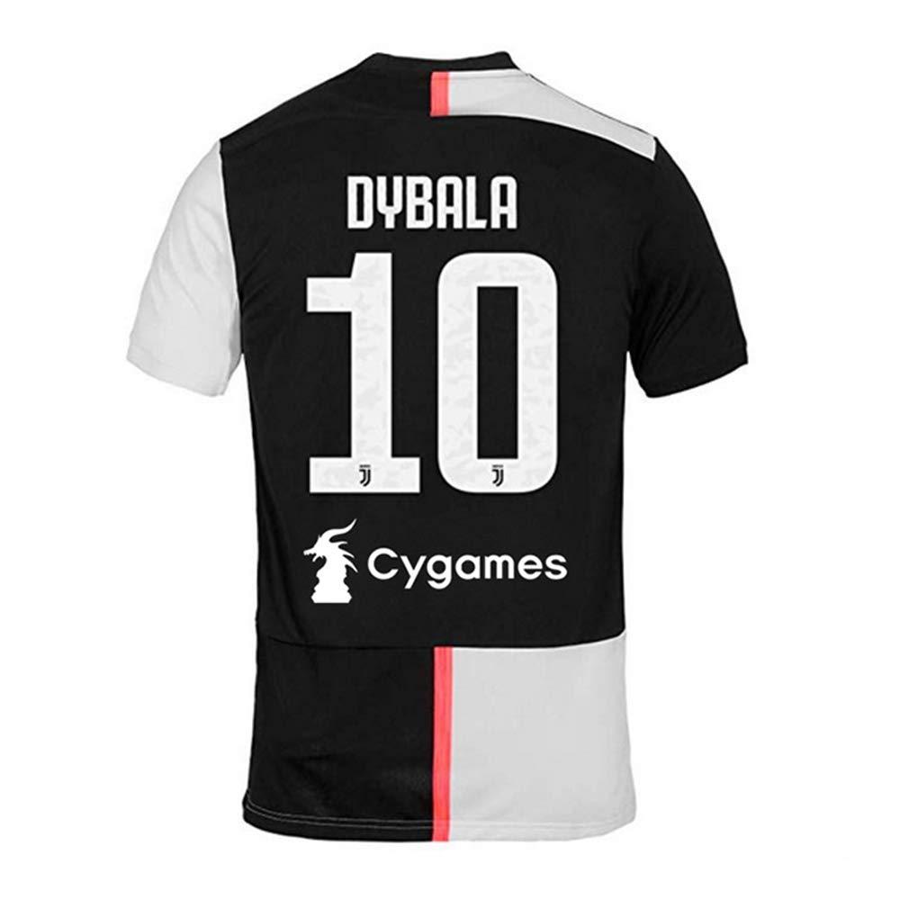 CHhehee Juventus Dybala#10 Spieler Fu/ßball Trikot f/ür Erwachsene Jugend Ausbildung Sport T-Shirts