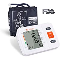 COULAX Digital Blood Pressure Monitor with WHO Indicator and Large LCD Screen