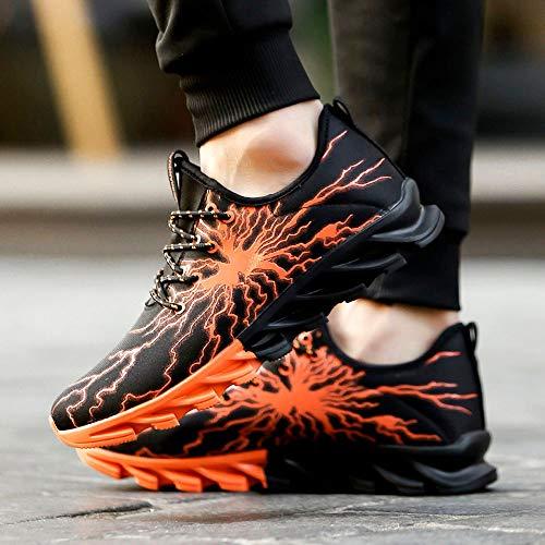 Corsa Estive Casual Zarupeng Sportive Dimagranti Arancia Trekking Running Donna Sneakers Scarpe Fitness Da Uomo Ginnastica Benessere Trail Basse All'aperto wYqxY6pPr