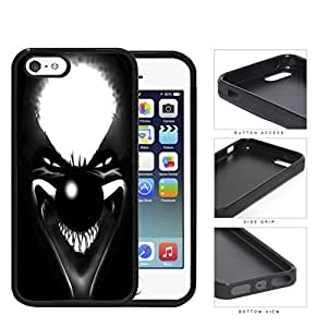 Evil Clown Scary Face Mask Rubber Silicone TPU Cell Phone Case Apple iPhone 5 5s