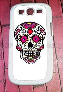 Samsung Galaxy S3 Case, Sugar Skull Galaxy S3 Cover, Samsung Galaxy S3 Cases, Galaxy S3 Case