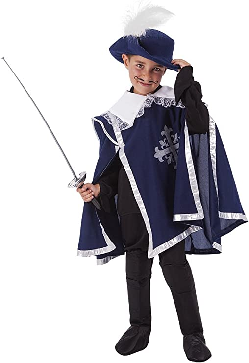 Rubies- Disfraz Mosquetero, L (8-10 años) (Rubies Spain S8476-L ...