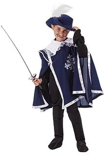 Dress Up America Set di costumi per bambini Deluxe Moschettiere dc415149d9eb