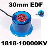 ducted fan brushless - HL3008 1818-10000KV Brushless Motor 30mm EDF Ducted Fan Power System