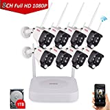 Tonton 1080P Full HD Wireless Security C...