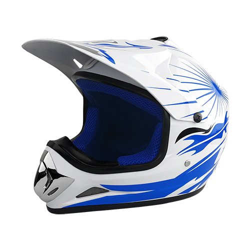 Blue And White Motorcycle - 6