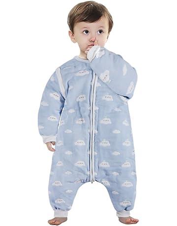 Lictin Saco de dormir para bebés con mangas extraíbles para bebés Niños de 1-3