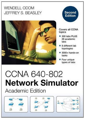 CCNA 640-802 Network Simulator, Academic Edition Academic of 2nd (second) r Edition by Odom, Wendell, Beasley, Jeffrey S. published by Pearson Educacion (2012)