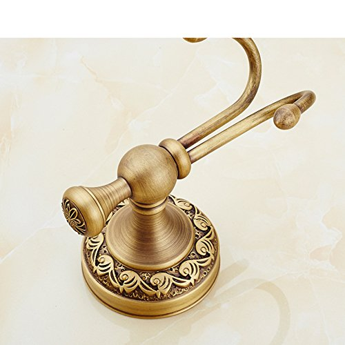 new Linked to the continental retro bathroom copper/ Antique clothes Hook/Door hooks in the back