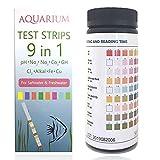 Qguai 9 in 1 Aquarium Test Strips, Water Test