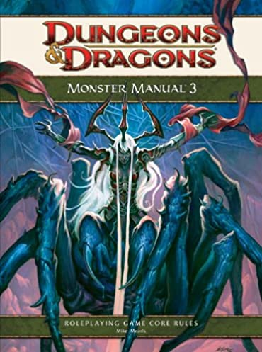 monster manual 3 a 4th edition d d core rulebook dungeons rh amazon com monster manual 1st edition youblisher d&d 4e monster manual 1 pdf download
