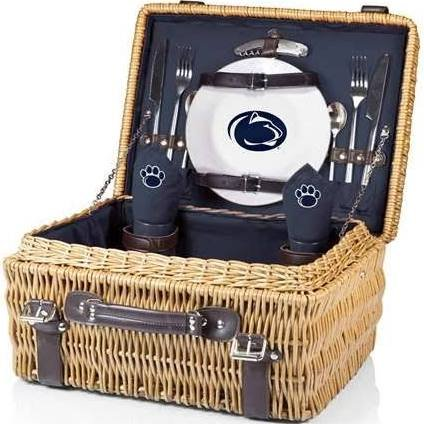 NCAA Penn State Nittany Lions Champion Picnic Basket with Deluxe Service for Two, ()