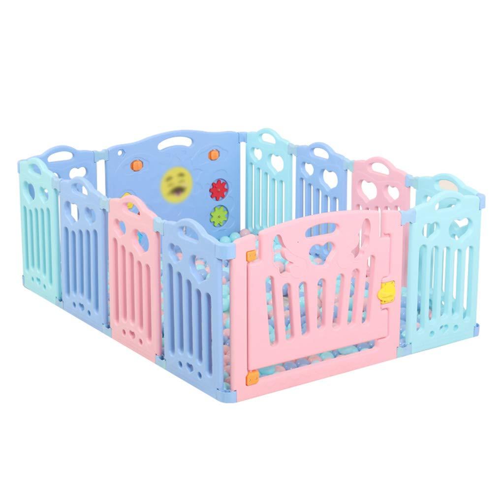 屋内ベビーフェンス、子供用ゲームフェンス幼児用クロール幼児安全保護フェンス家庭用遊具玩具ルーム40-80CM (色 : C) B07H7LBW1P C