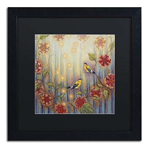 Ocean Arbor by Rachel Paxton, Black Matte, Black Frame 16x16-Inch - Matte Black Arbor