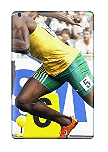 Quality ZippyDoritEduard Case Cover With Usain Bolt Running Nice Appearance Compatible With Ipad Mini/mini 2