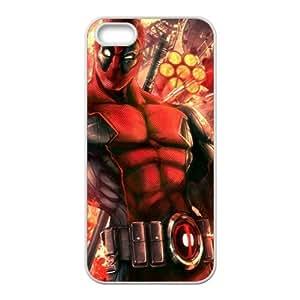 Valiant Warrior Deadpool Cell Phone Case for Iphone 5s
