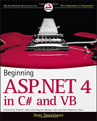 Beginning ASP.NET 4: in C# and VB by Wrox