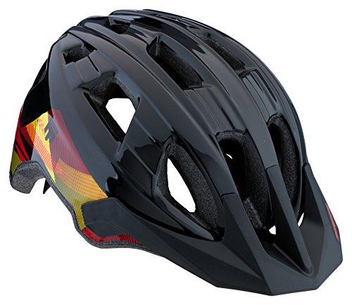 Mongoose Boys Zone Helmet, Black Lines