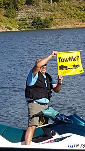 HEDZUP Boater Disabled TowMe Safety Flag. They Won