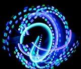 GloFX Team LED Glove Set: Spear Mint - White Rave