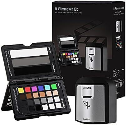 X-Rite i1 Filmmaker Kit (EODIS3MSCCPPVC) Color Balance Target, Scanner &  Software Set for Video