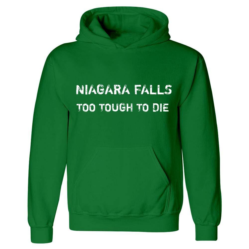 Hoodie Irish Green MESS Niagara Falls Too Tough to Die