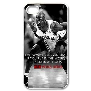 Michael Jordan Chicago Bulls Superstar Hard Case Cover Design for iphone 4/4s Case,Best Gift Choice for Jordan Fans