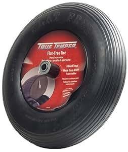 True Temper 8-Inch Flat Free Solid Wheelbarrow Tire FFTCC
