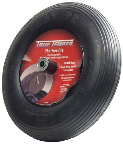 True-Temper-8-Inch-Flat-Free-Solid-Wheelbarrow-Tire-FFTCC