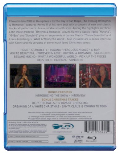Kenny G: An Evening of Rhythm Romance [Blu-ray] by DVD (Image #1)