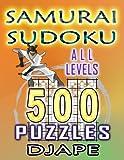Samurai Sudoku: 500 puzzles all levels (Volume 1)