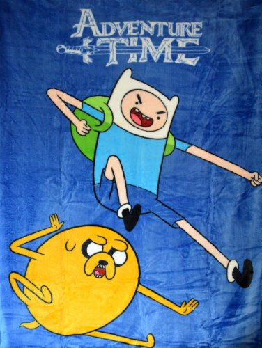 Adventure Time High Pile Twin Blanket Throw 60