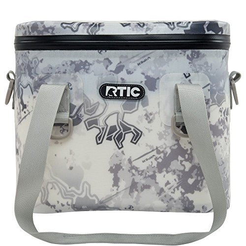 RTIC Soft Pack 8 (Viper Snow) by RTIC