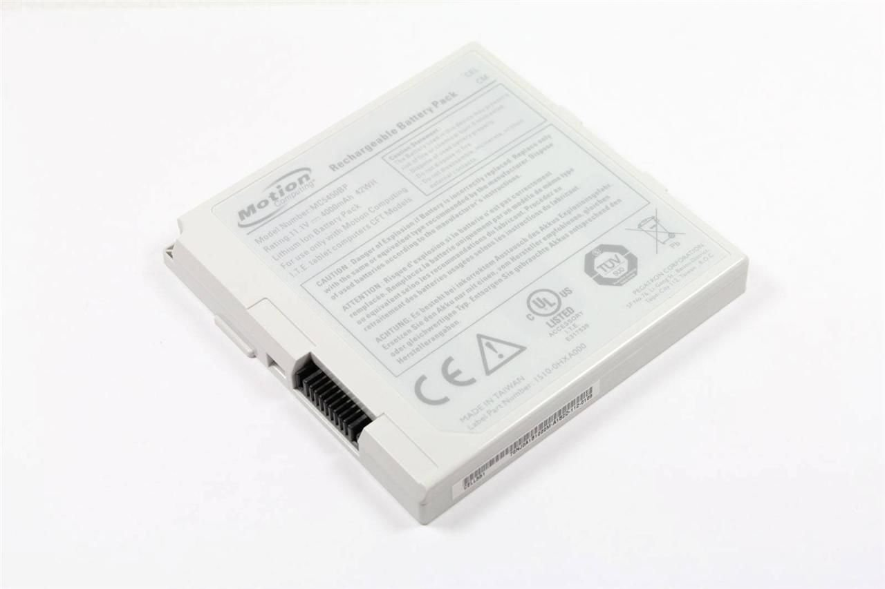 Motion Computing Tablet PC Battery for C5 F5 and F5v MC5450BP Light Grey by Motion Computing