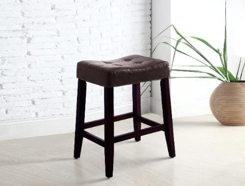 Buy saddle back kitchen stool online. Best backless saddle back bar stool