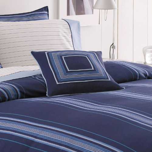 Nautica Walton Decorator Square Stuffette Pillow Navy